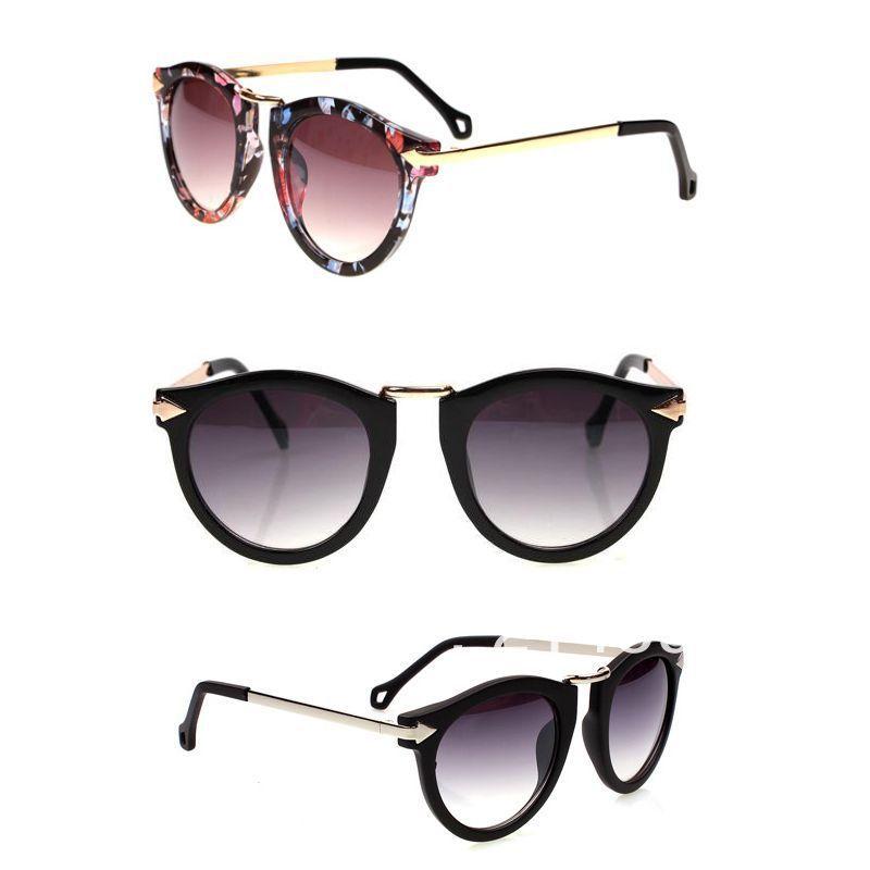 Vintage Women Designer Walter Arrown High Quality  6Multi Color Sunglasses 1pc Free Shipping
