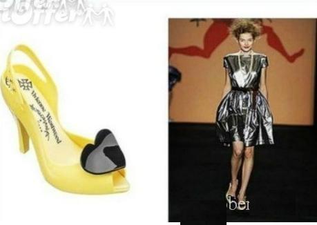 VivienneWestwoodJellyHeart Heels shoes