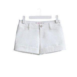 Vogue,lady's shorts,business suit pants,casual pants,cotton blends,high quality,white,s:S/M/L/XL,GT0238