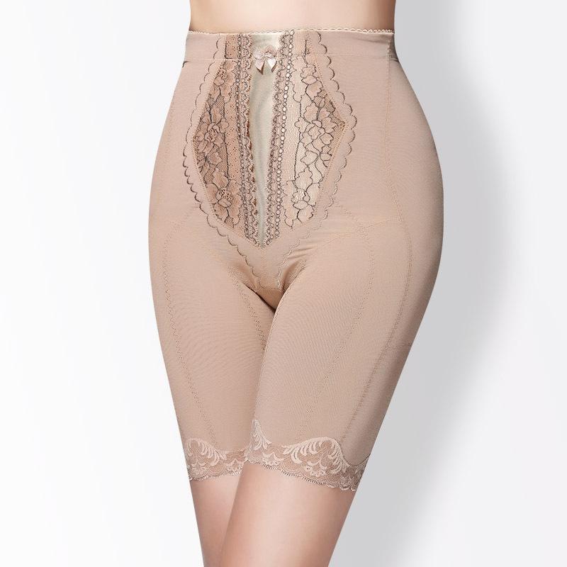 Wake up short plastic pants nice bottom slim waist abdomen drawing beauty care body shaping pants abdomen drawing pants