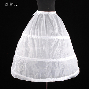 Wedding dress ring pannier slip ring skirt qc036