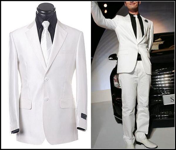 White men marry the groom take wedding dress suitmarriage ( coat   ...