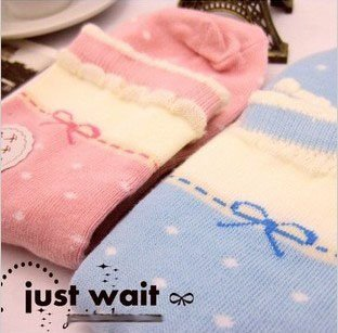Wholesale 2012 New Arrivel 100% Cotton Cute Women Lace Short Sock SOX Free Shipping
