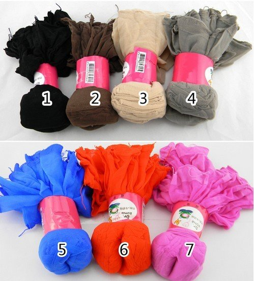 Wholesale 50pairs/lot Candy Colour Crystal Silk Socks Women Free Shipping