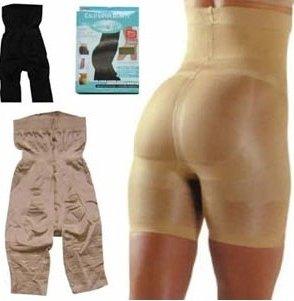 Wholesale Beige and black Slim n lift/Slim Pants Body Shaper