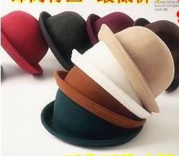 wholesale cashmere top hat/jazz cap(56-58cm)