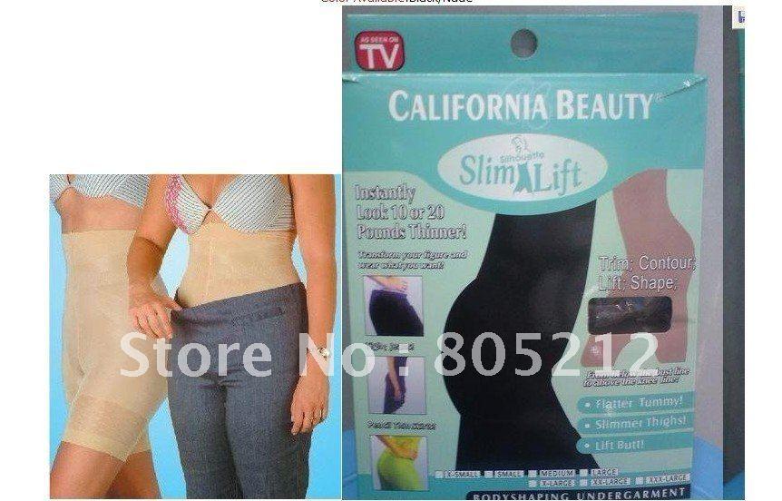 Wholesale drop Shipping Nude/black Slim N Lift Body Slimming Pants For Women 100pcs