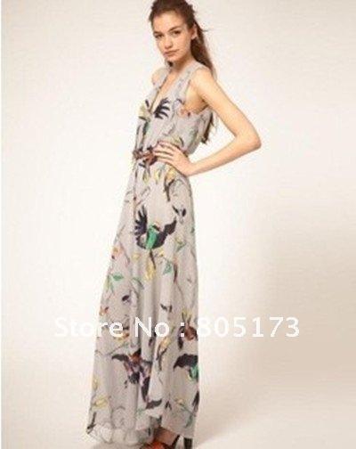 Wholesale Free Shipping 2012 Summer newest fashion Chiffon Boot cut pants Jumpsuit pants skirt /D-96-332