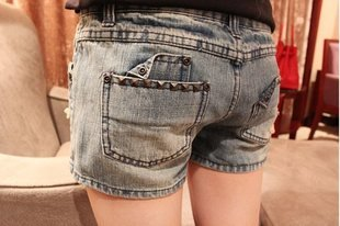 Wholesale + Free Shipping  3202 denim shorts