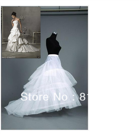 Wholesale - Free shipping NEW Good price and quality!With Train Petticoat/Crinoline/Underskirt Accessories