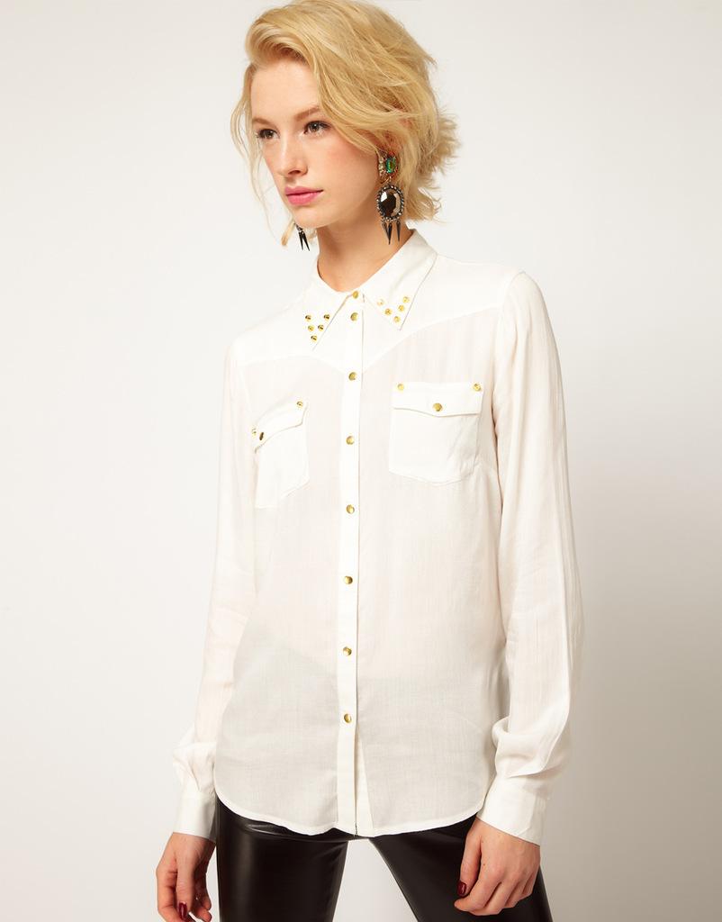 Шикарные Белые Блузки