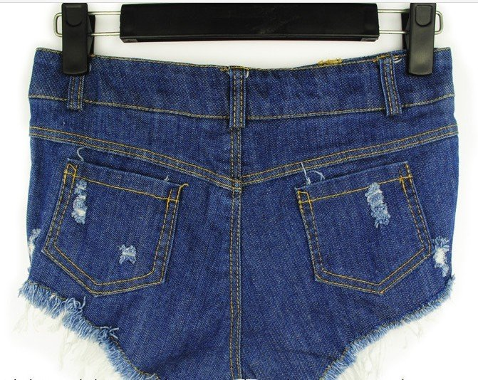 Wholesale or Retail 2012 New Lady Hole Denim Shorts,Women's Jeans Shorts,Hot Sale Tie Dye Ladies' Denim Short Pants Size:S M L