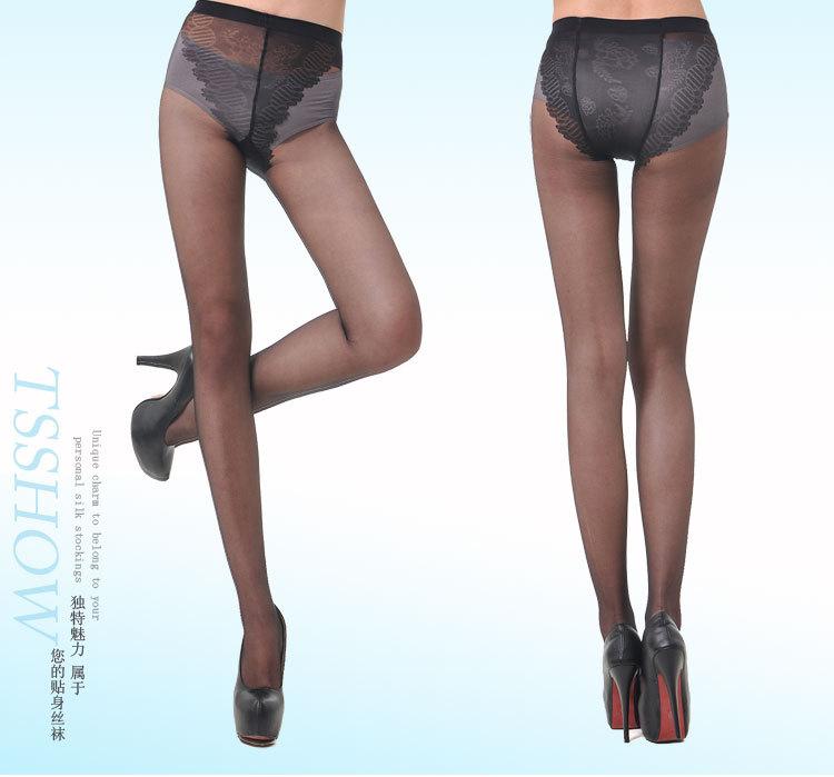 Wholesale - Super Sexy Bikini stockings ultra-thin black stockings pantyhose thin anti-hook stockings