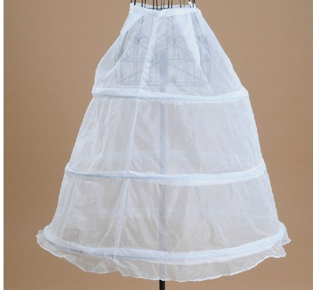 Wholesale Wedding dress petticoat, Three loop  folding wedding panniers, freeshipping