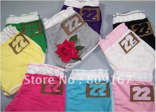 Wholesale - Woman Home casual beach pants /Cotton Hot pants shorts the sports pant Swimming trunks