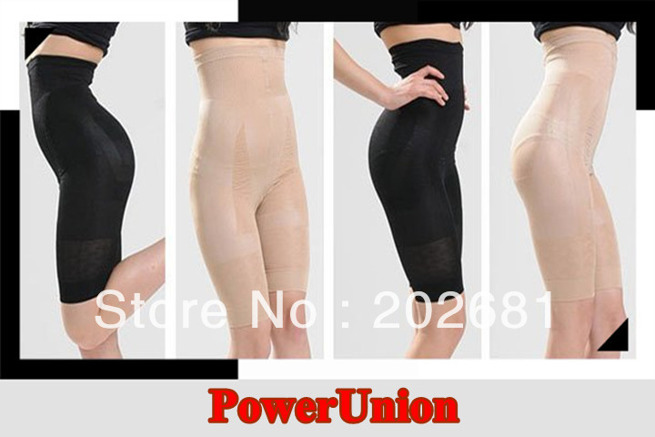 Wholesale - Women's Slim N Lift Body Shaper Magic Seamless Slimming Corset Pants Underwear 300pcs Free shipping