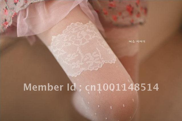 Wholesales Free Shipping New fashion lady's lace stockings,Tights Pantyhose silk Stocking Leggings sock