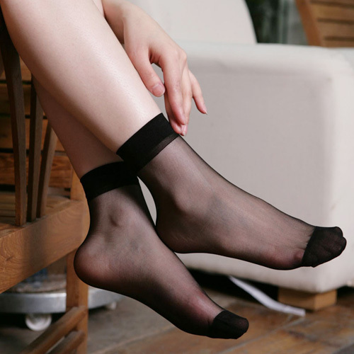 whosale 50pairs/lot Women Cute Candy Colors Sexy Ultra-Thin Filar Socks Casual SOX Free Shipping