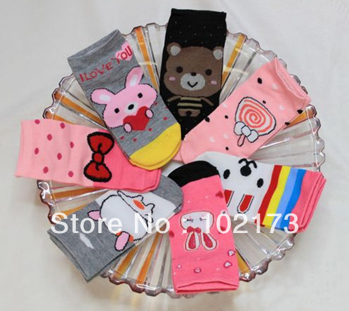 whose Free shipping seven days 100% cotton woman socks/colorful weekly scoks