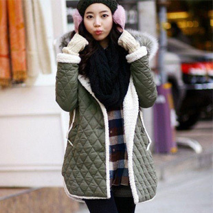 Winter maternity clothing cotton shaping maternity wadded jacket cotton-padded jacket outerwear hl1983