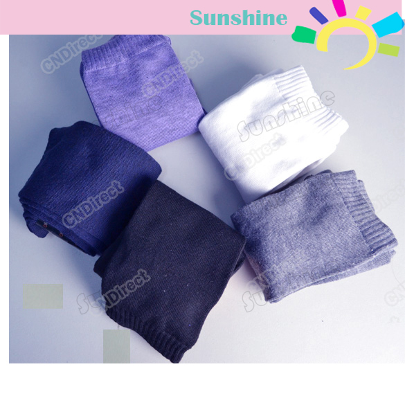 Winter Over The Knee Socks Thigh High Cotton Socks Socks Stockings 5 Colors For Selection Black, White, Grey Purple, Blue 3226