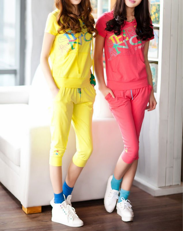 Woman Activewear Suit,Leisure Clothing,Free Shipping,New&Cheap Fashion Costume,3 Days Leading,Wholesale/1 Pcs/Lot-D819-5250