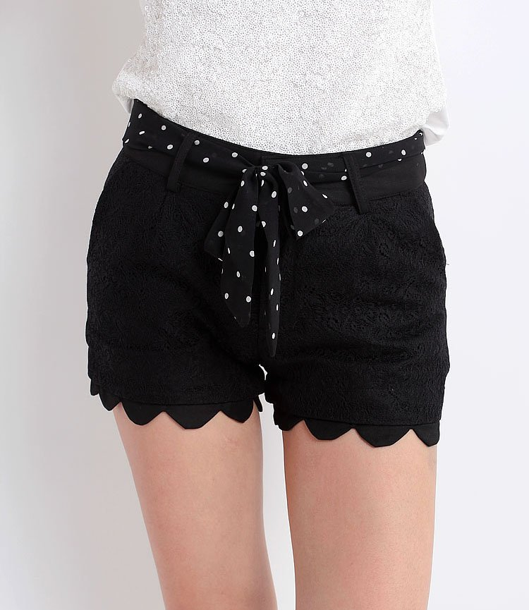 Women High Quality Short Lace Trousers /Casual Short Pants/Ladies' short/scanties(S-XL)-Free Shipping