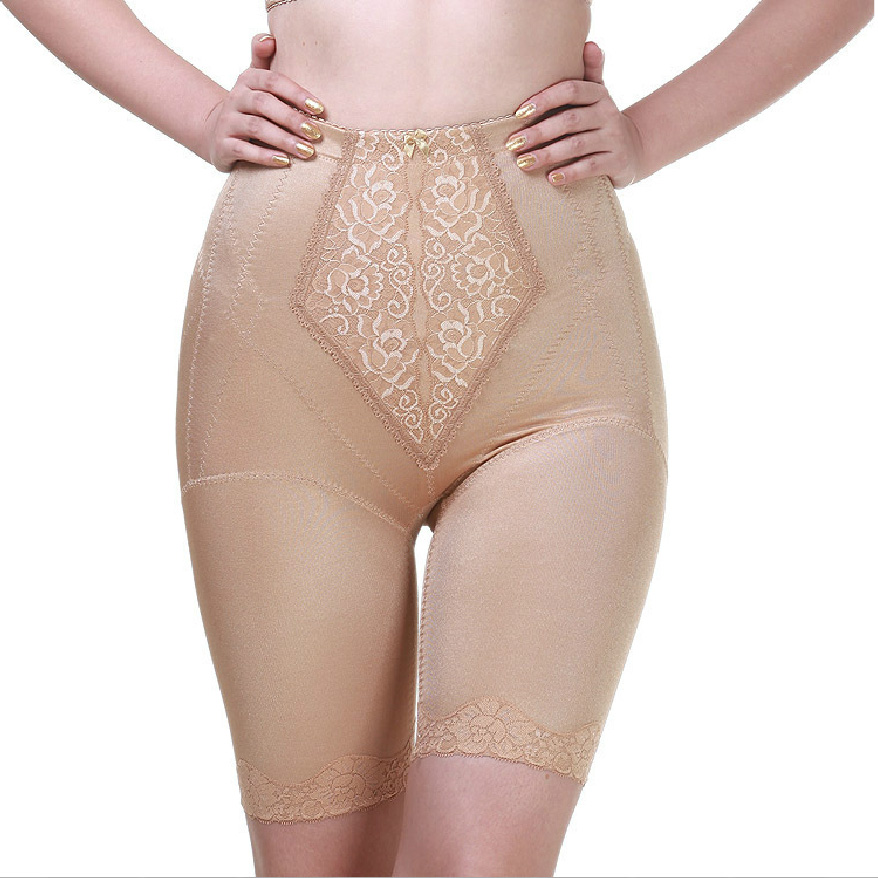 Women's adjustable corset beauty care pants slimming short legs plastic pants f106