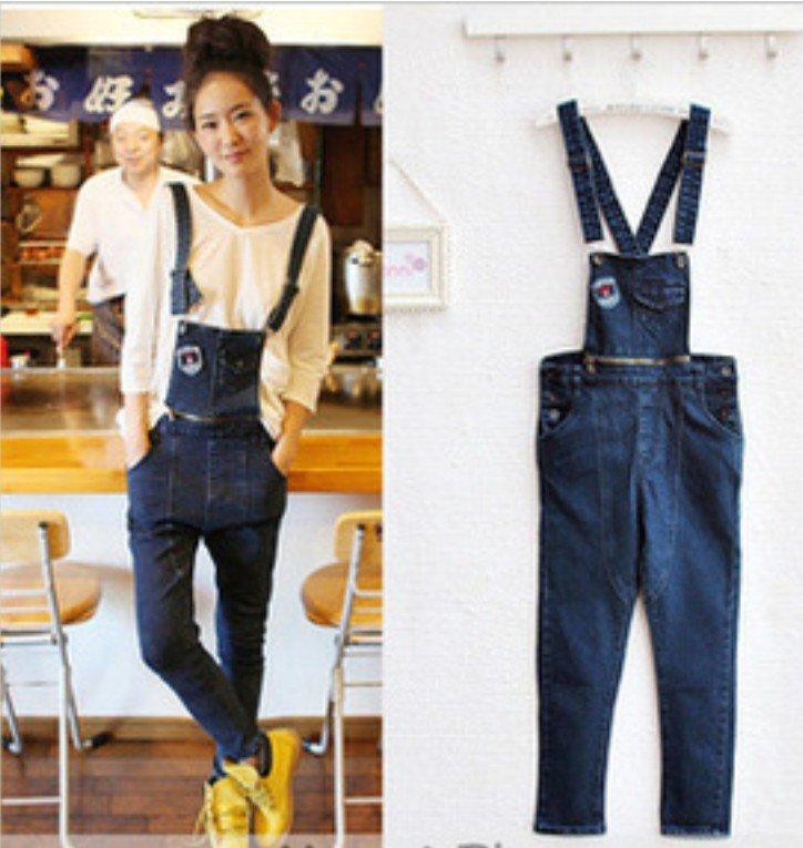 women's fashion denim jean  jumpsuits rompers i146