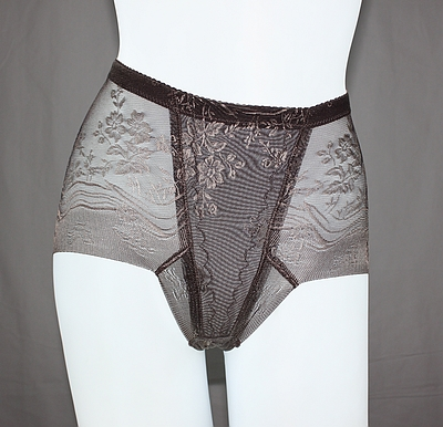 Women's high waist abdomen pants butt-lifting drawing body shaping pants ultra-thin breathable gauze seamless panties