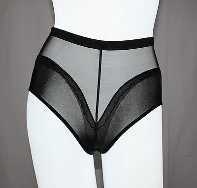 Women's high waist butt-lifting abdomen drawing pants body shaping pants ultra-thin gauze breathable paragraph briefs