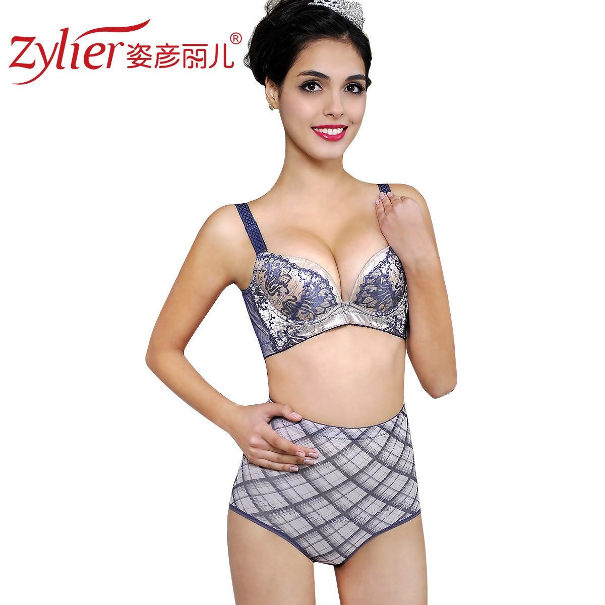 Women's mid waist magic abdomen drawing pants butt-lifting body shaping pants beauty care pants shorts sk31