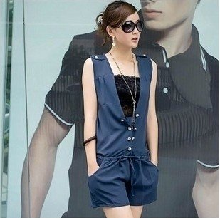 Women's new style wear Jumpsuits   2013 the big yardsRompers shorts snow spins conjoined twins hot pants summer