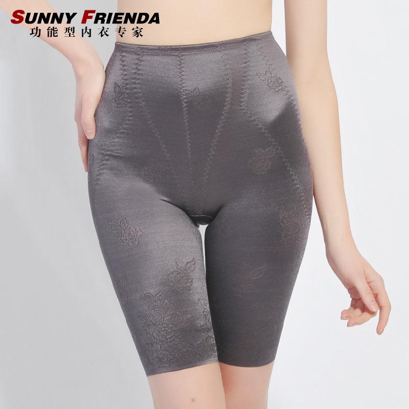 Women's seamless basic waist abdomen drawing butt-lifting body shaping pants corset pants 2726