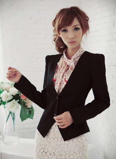 Women's suit separates office ladies' clothes 1202046 Wholesale Free Shipping