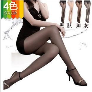 women's tights T ultra-thin sexy Core-spun Yarn pantyhose plus crotch rompers stockings free shipping 3005