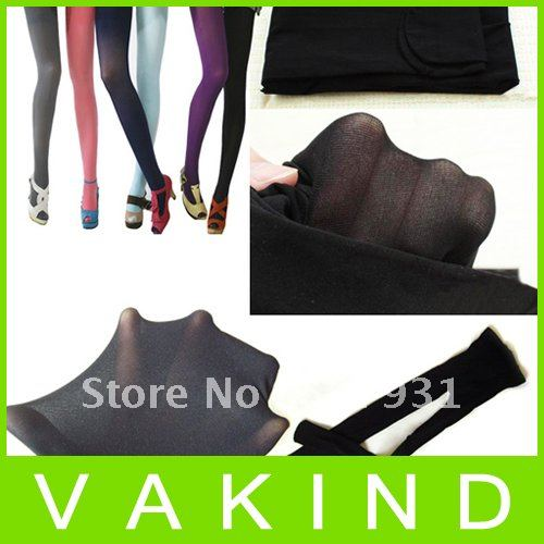Women Semi Opaque Tights Pantyhose Colors Stockings