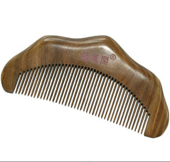 [Xifeng Court] Han Chinese clothing costume hair accessories the comb / green sandalwood comb / jade sandalwood comb