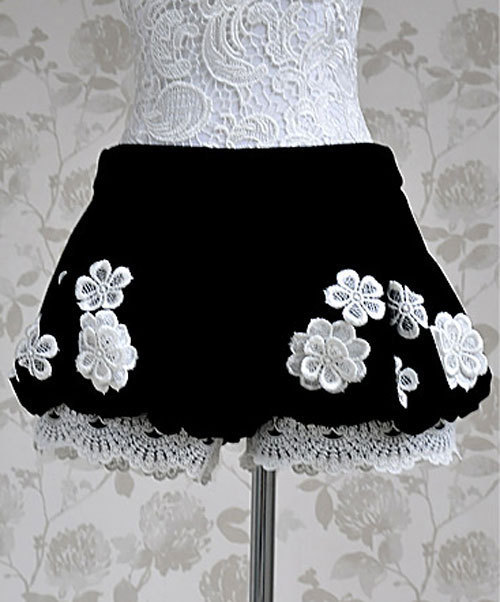 XS-L  free shipping Manufacturers supply women's autumn low waist lace shorts # A89