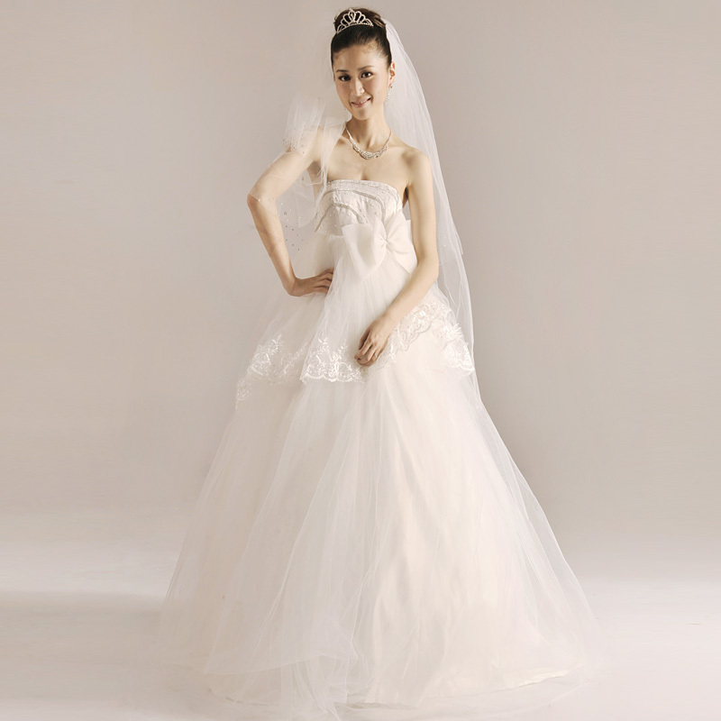YHZ2012 latest wedding dress Korean version Bra, Maternity wedding flowers, high waist code wedding winter