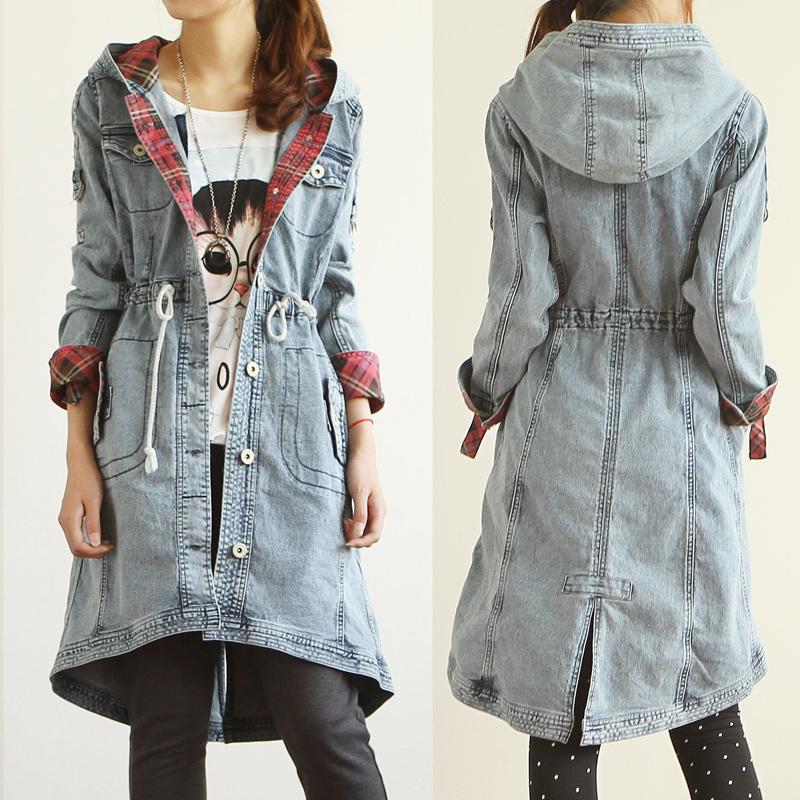 Сшить пальто из джинсовой ткани 51