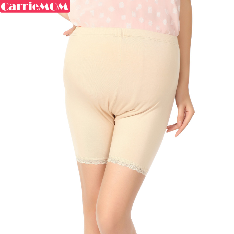 Carriemom maternity pants spring maternity shorts legging safety pants