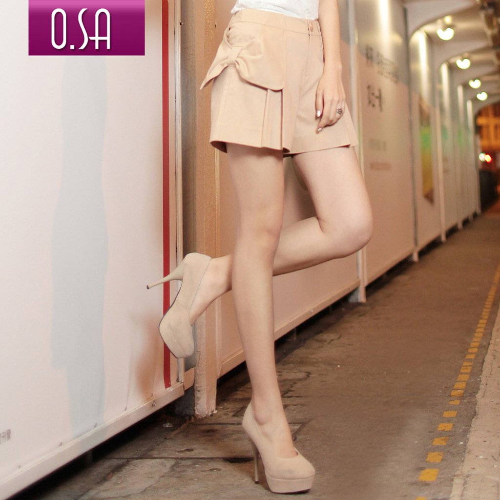 Smoke Dress 2012 summer women's straight fashionable casual shorts k24013